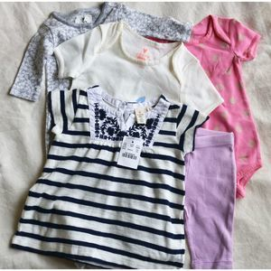 Crewcuts Baby  0-3M 12-18M 6 items NWOT NWT